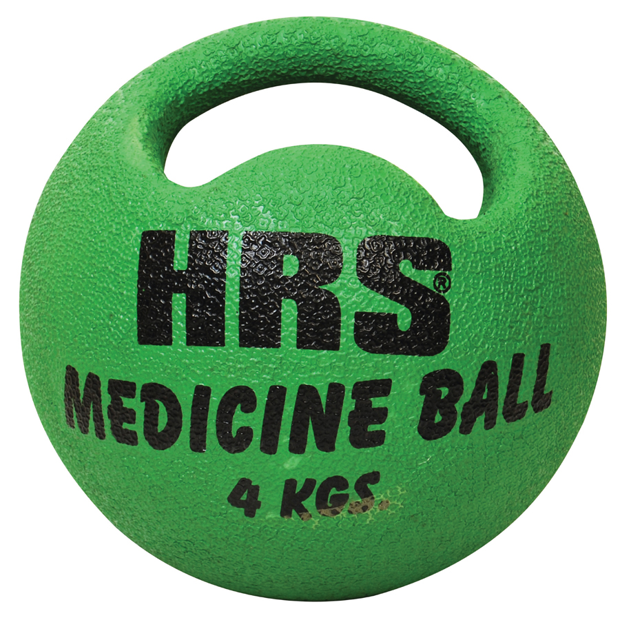 Rubberised Medicine Ball   (Single Handle)